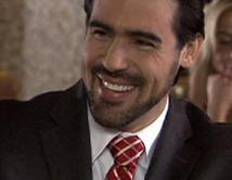 En Más sabe el diablo, interpretó al fiscal Osvaldo Guerra. Great performance. Foto cortesía: ecuavisa.com