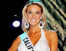 La Miss California 2009 fue descalificada por haber manifestado estar en contra de los matrimonios homosexuales.
