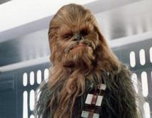 Líder entre los Wookies, 'Chewy' fue socio de Han Solo y un héroe en la lucha contra el Imperio.