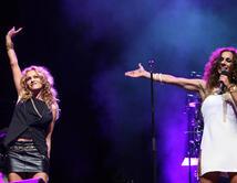 Compartió en un concierto junto a la española.  ¿Cuál ha sido tu dueto favorito de Paulina?