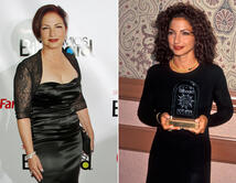 """De fresca y juvenil en 1994 a """"señora de la música"""" en 2011."""
