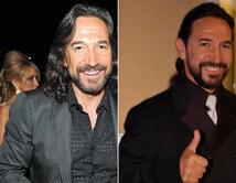 De 2002 (der.) a 2010 (izq.) el mexicano se ha mantenido fiel a su estilo de tonos oscuros y pelo largo.