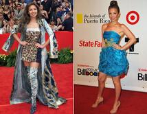 De 2001 (izq.) a 2010 (der.), la diva mexicana mantuvo intacta su belleza.