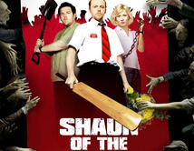 'Shaun of the Dead' catalogada como una parodia a la popular clásica 'Dawn of the dead'.