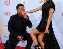 Eva Longoria junto a George Lopez