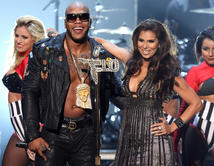 They perform onstage at the 2012 NCLR ALMA Awards