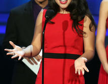 """Won 'Favorite Movie Actress in a Supporting Role' for her work in """"Girl in Progress."""""""