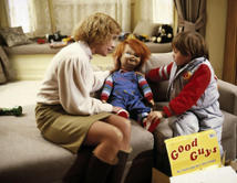 Alex Vincent interpretó al desafortunado niño que adoptó al muñeco.