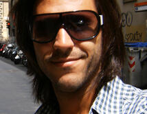 Así lucía su cabello en Italia en el año 2009