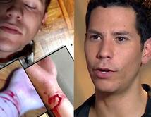 Christian yex pareja se acusaron de agresión; Christian publicó foto de supuesto suicidio.