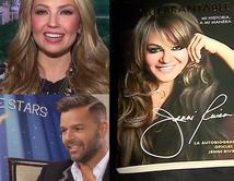 """Familia Rivera sacó al mercado autobiografía oficial de Jenni Rivera """"Inquebrantable"""", Ricky Martin y Thalía publican libros para niños."""