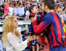 La cantante y el famoso jugador de fútbul dieron la bienvenida a su primogénito hijo Milan.