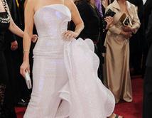 Acaparó la atención de todos con este vestido
