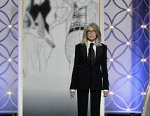 Diane Keaton se encargó de resaltar su costado más humano y creativo.