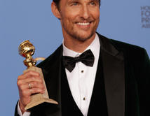BEST ACTOR IN A DRAMA(Dallas Buyers Club as Ron Woodroof)