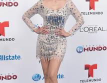 Dinos cómo crees que se ve mejor Cynthia Olavarría: ¿vestido largo o corto?