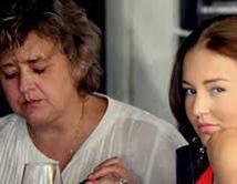Es muy reciente la muerte de la madre de Angelique Boyer.