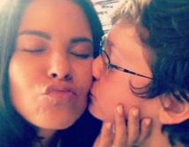 Comparte un momento con el pequeño hijo de su novio