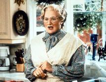 """De la película """"Mrs. Doubtfire""""."""
