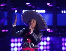 "Tiffany cantó ""Hermoso cariño"" de Vicente Fernández."