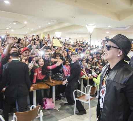 Daddy Yankee a sus llegada a Argentina