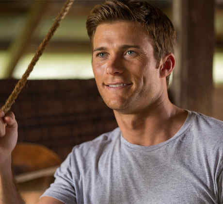 "Scott Eastwood, en ""The Longest Ride""."
