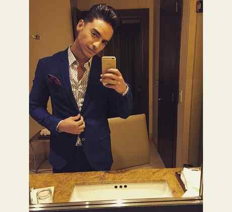 Selfie de Maluma en su Instagram