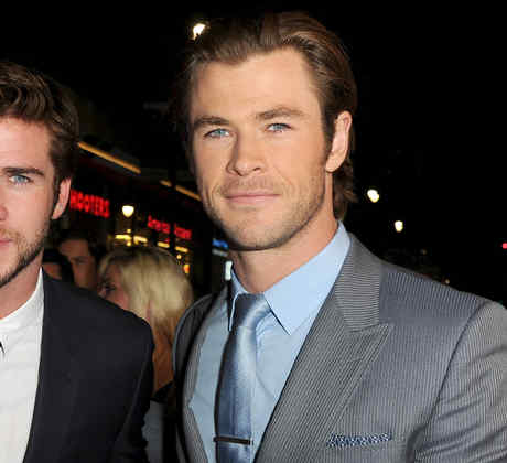 Liam Hemsworth y Chris Hemsworth.