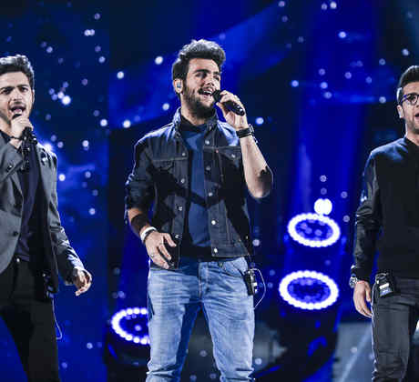 Il Volo during their rehearsal at the Latin American Music Awards 2015