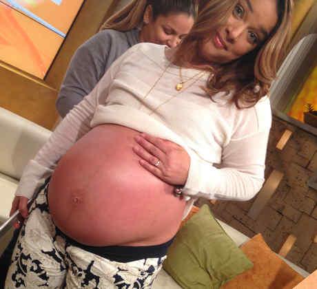 Adamari López lista para el nacimiento de su hija