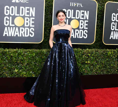 Ana de Armas attends the 77th Annual Golden Globe Awards