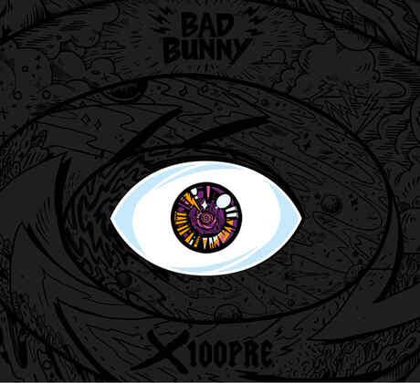 Bad Bunny portada álbum X 100PRE