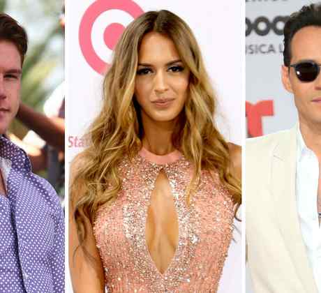 Canelo Álvarez, Shannon de Lima y Marc Anthony
