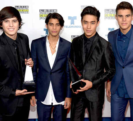 CNCO en los Latin American Music Awards