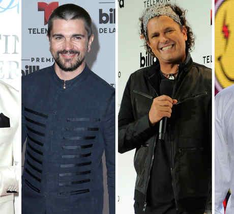 Maluma, Juanes, Carlos Vives y J Balvin