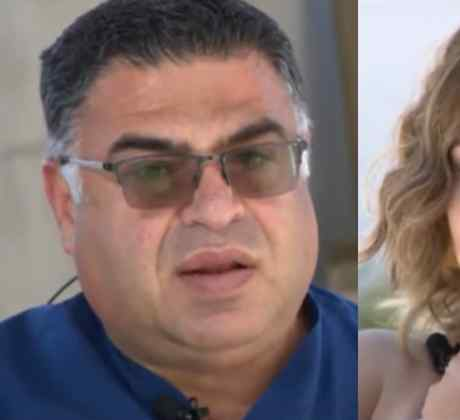 Doctor George Alkhouri, médico que llegó herido al hospital y salvó a una bebé