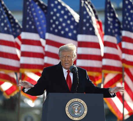 El expresidente, Donald Trump