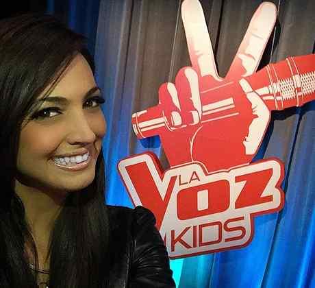 Erika Csiszer en La Voz Kids