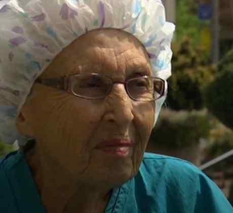 Florence Rigney, la enfermera más antigua de EE.UU.