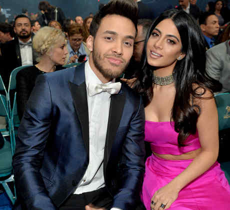 Prince Royce y Emeraude Toubia - Latin GRAMMY Awards 2015