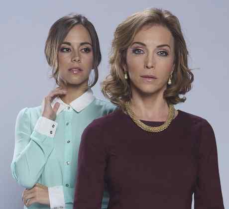 Maria Elisa Camargo and Laura Flores