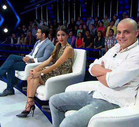 Los ex habitantes Rafael, Carlos e Iselis