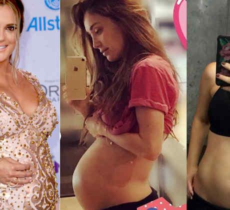 Embarazadas, Sabrina Seara, Anahí, Zuria Vega, club de novelas