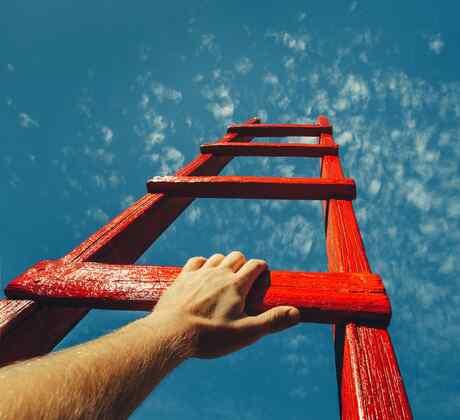 Escalera roja