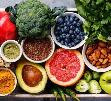 Frutas y otros productos frescos