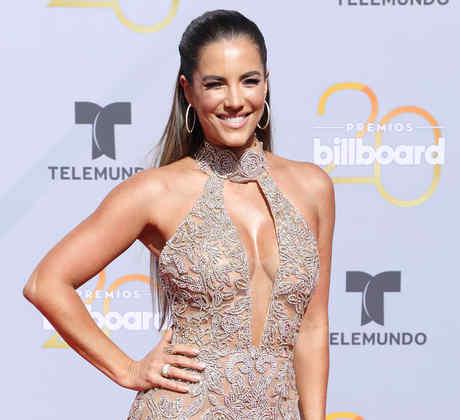 Gaby Espino en el 20 aniversario de los Premios Billboard