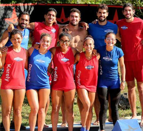 Team Famosos y Team Contendientes