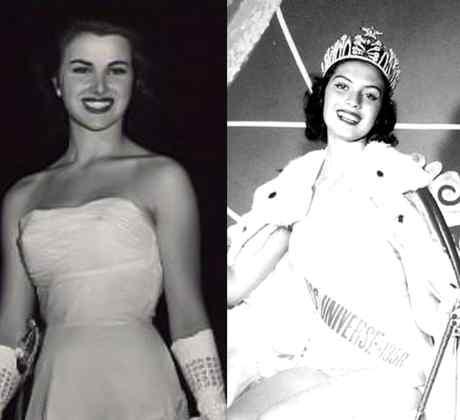 Armi Kuusela, Christiane Martel y Gladys Zender en Miss Universo