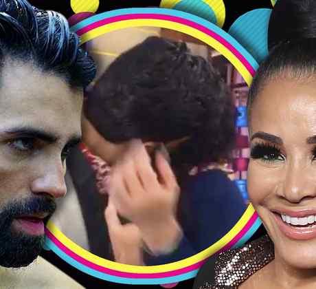 Carolina Sandoval se besa con galán de El Señor de Los Cielos