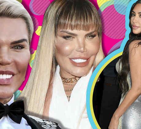 Ken humano y Kim Kardashian